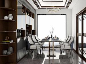 沁香园系列餐厅定制设计:用现代观念解读传统中式风格