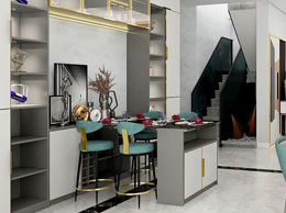 帝幔尼系列餐厅设计集格调和情调于一体
