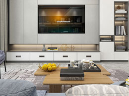 西西里客厅定制设计风格