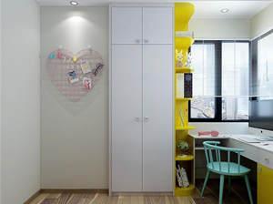 【北欧现代风格】炫彩都市儿童房衣柜