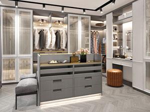 小空间大世界 欧式风格衣帽间设计定制