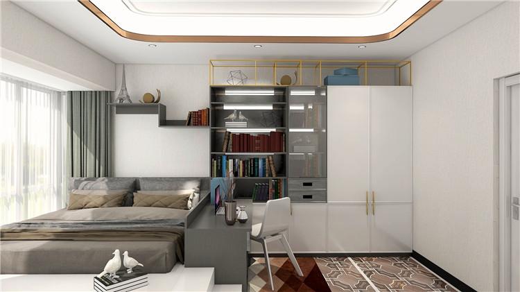 西西里系列_简约欧系风格家具定制效果图