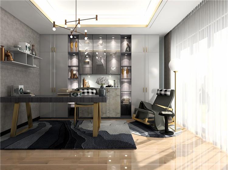 科尔斯系列意式轻奢风格家具定制效果图