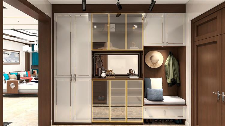 岭南印象系列中式风格家具定制效果图