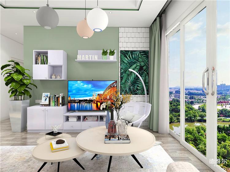 蓝爵士系列现代风格家具定制设计效果图