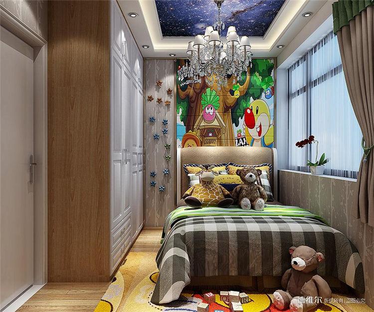 从化定制家具设计效果图:从化云星钱隆公馆2栋一单元01.02户型儿童房