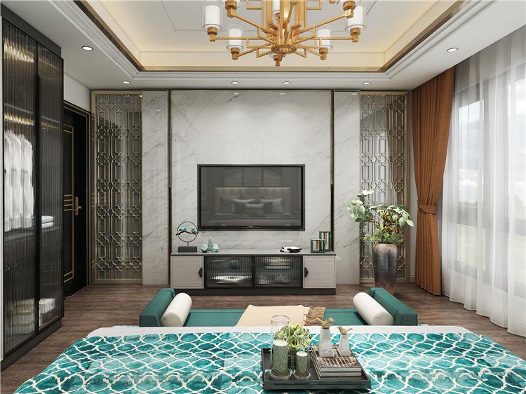 怡翠尊堤全屋家具定制:卧室设计效果图