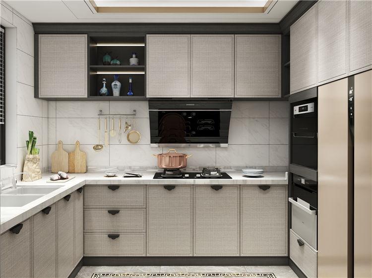 怡翠尊堤全屋家具定制:厨房橱柜设计效果图